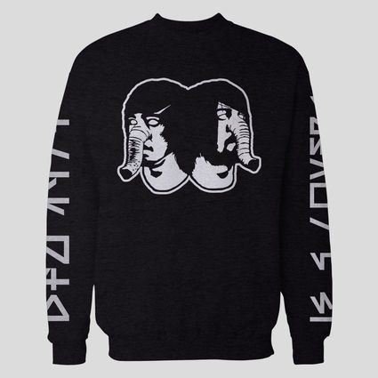 Death From Above 1979: DFA Logo Black Crewneck