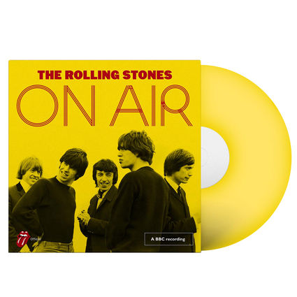 The Rolling Stones: On Air (2LP Yellow Vinyl)