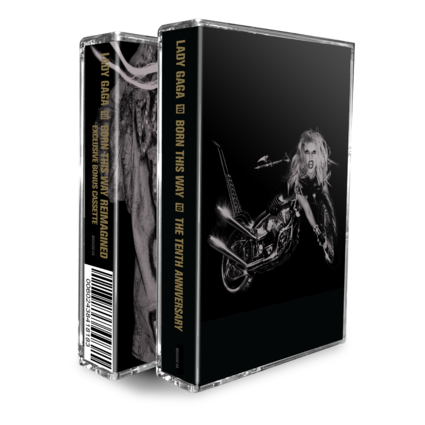 Lady Gaga: BORN THIS WAY THE TENTH ANNIVERSARY CASSETTE (2 MC)
