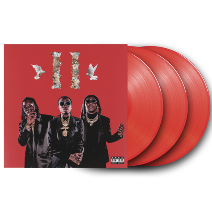 Migos: Culture II - 3LP Red Vinyl