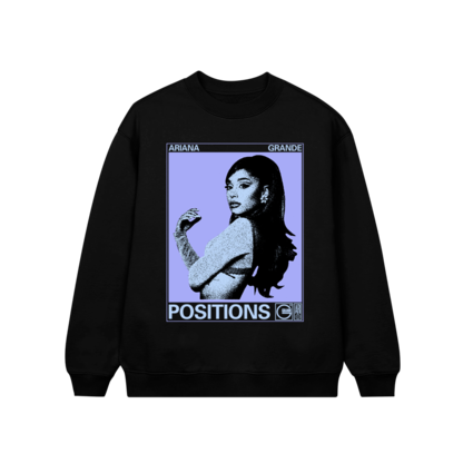 Ariana Grande: POSITIONS PHOTO CREWNECK