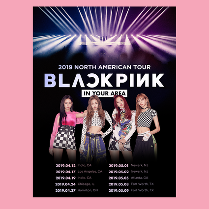 Blackpink: In Your Area Poster