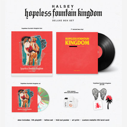Halsey: hopeless fountain kingdom box set