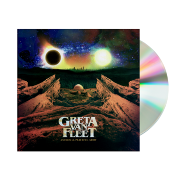 Greta Van Fleet : Anthem Of The Peaceful Army CD