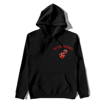 The Weeknd: AFTER HOURS DICE PULLOVER HOOD