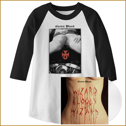 Electric Wizard: Limited Edition Clear Vinyl & Baseball Shirt