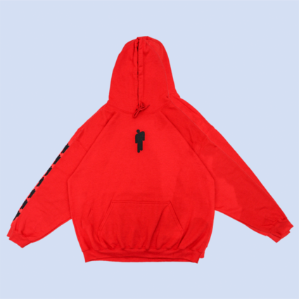 Billie Eilish: RED BILLIE HOODIE