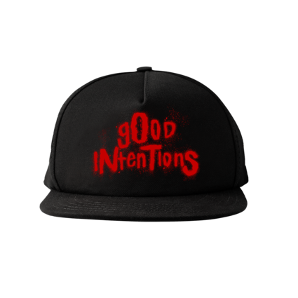 Nav: NWO WOLFPAC GOOD INTENTIONS SNAPBACK + DIGITAL ALBUM