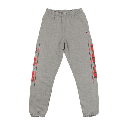Justin Bieber: Stadium S Heather Gray Sweat Pants