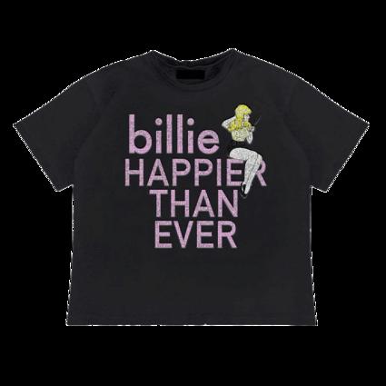Billie Eilish: Pretty Boy Rhinestone T-Shirt
