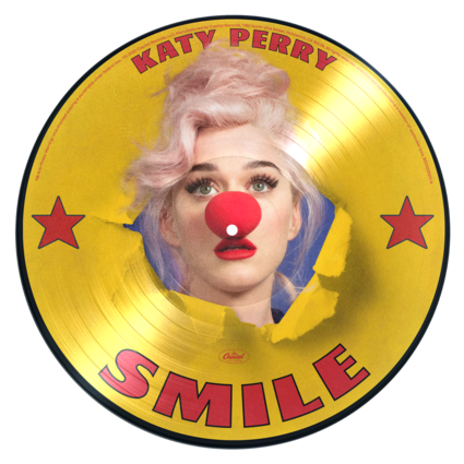 Katy Perry: Smile D2C Exclusive Picture Disc Vinyl + Digital Album