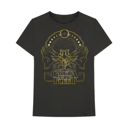 Greta Van Fleet : Phases Of The Moon Tee + Digital Album