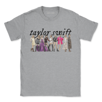 Taylor Swift: taylor swift eras heather gray tee