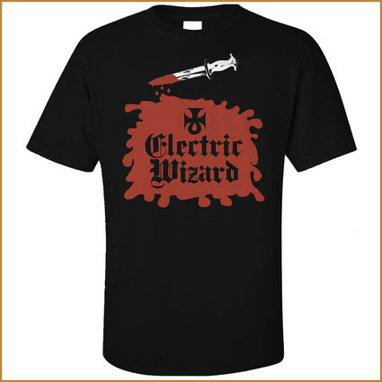 Electric Wizard: Front and Back Print Tee