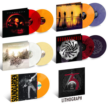 Soundgarden: Soundgarden 35th Anniversary Vinyl Bundle + Litho