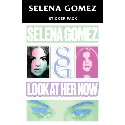 Selena Gomez : Look At Her Now Sticker Pack