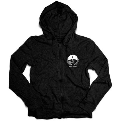Black Foxxes: Black Foxxes Chest Logo Hoodie