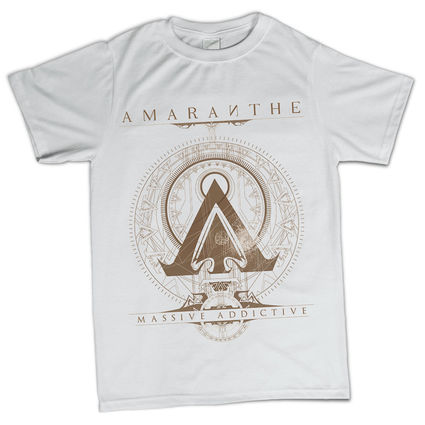 Amaranthe: Amaranthe White T-Shirt