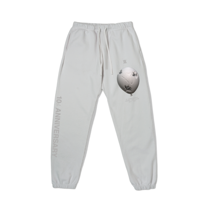 The Weeknd: DANIEL ARSHAM X THE WEEKND HOUSE OF BALLOONS ERODED BALLOON SWEATPANTS