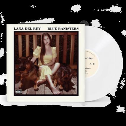 Lana Del Rey: BLUE BANISTERS TRANSPARENT WHITE VINYL