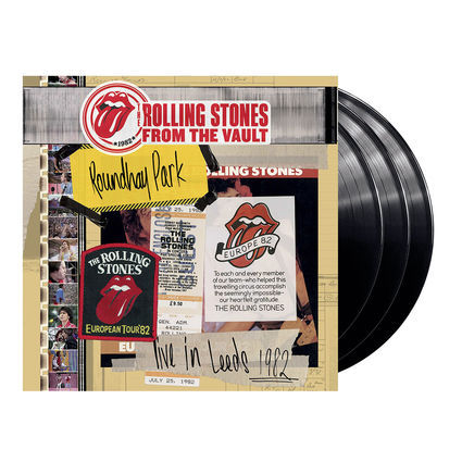 The Rolling Stones: From the Vault: Live in Leeds 1982 (3LP + DVD)
