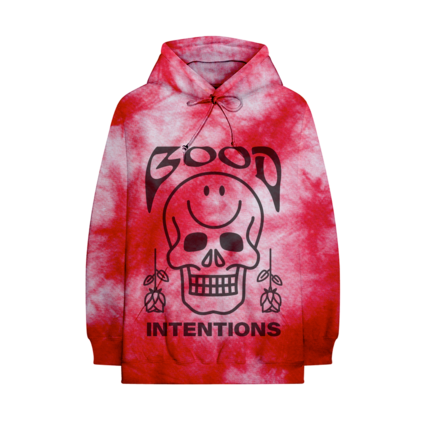 Nav: BLOOD ACID DYE HOODIE + DIGITAL ALBUM