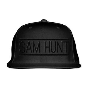 Sam Hunt: Sam Hunt Black Logo Hat