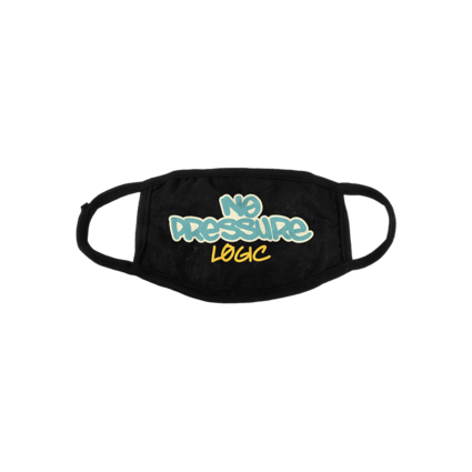 Logic: NO PRESSURE BLACK CLOTH LIMITED EDITION FACE COVERING