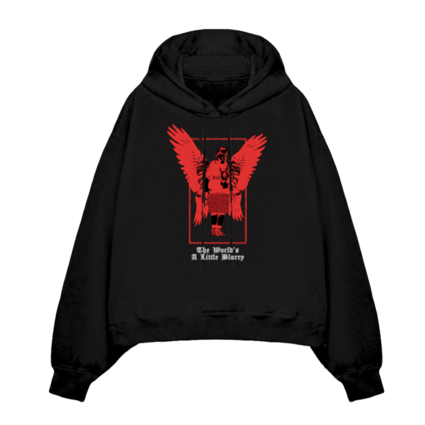 Billie Eilish: Billie's Angel Hooded Sweatshirt