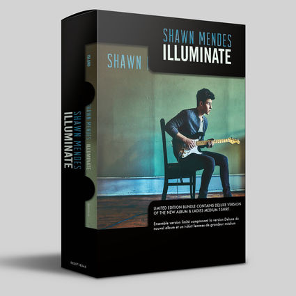 Shawn Mendes: Illuminate - Fan Pack (Deluxe CD + T-shirt)