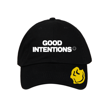 Nav: GOOD INTENTIONS LOGO HAT