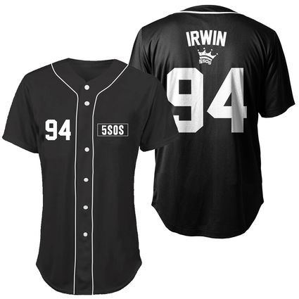 5 Seconds of Summer: Irwin Baseball Jersey