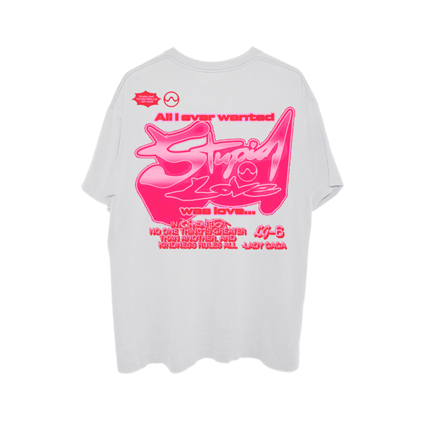Lady Gaga: LG6 STUPID LOVE T-SHIRT