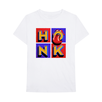 The Rolling Stones: Honk White Album T-Shirt