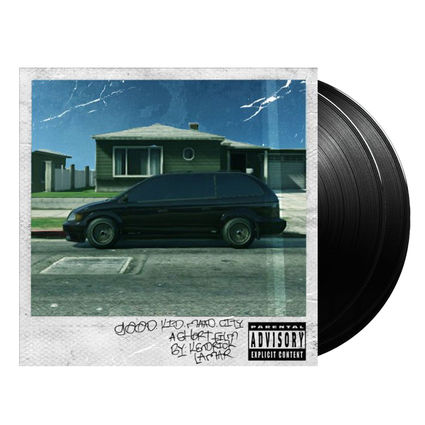 Kendrick Lamar: good kid, m.A.A.d city (2LP)