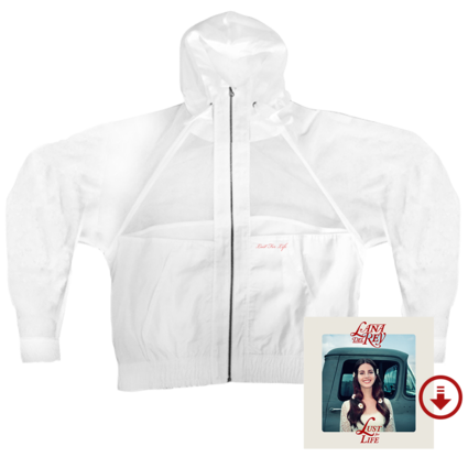 Lana Del Rey: Lust For Life - Windbreaker + Digital Album