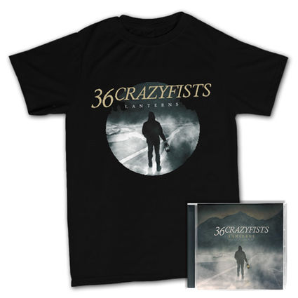 36 Crazyfists: CD & T-Shirt Bundle