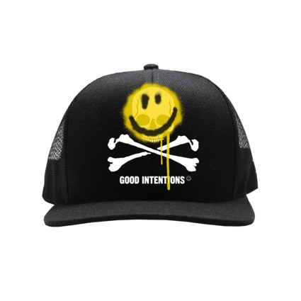 Nav: SMILE AND BONE MESH TRUCKER + DIGITAL ALBUM