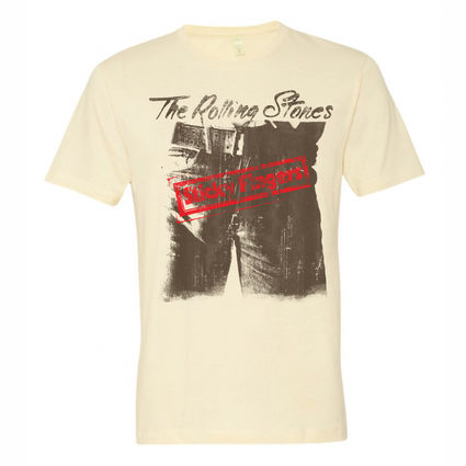The Rolling Stones: STICKY FINGERS - T-SHIRT