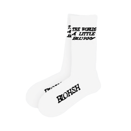 Billie Eilish: Blurry White Socks