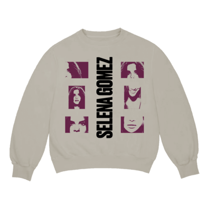 Selena Gomez : Lose You To Love Me Tan Crew Neck