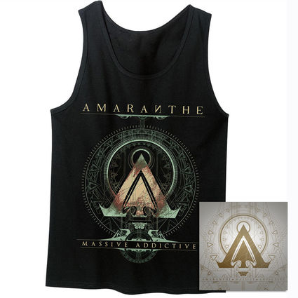 Amaranthe: Massive Addictive Black Tank & CD Bundle