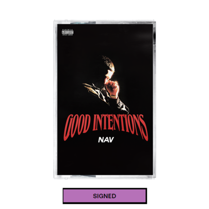 Nav: Good Intentions Cassette + Digital Album