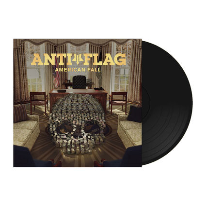 Anti-Flag: American Fall (Black Vinyl)