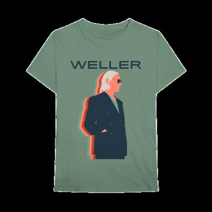 Paul Weller: Graphic T-Shirt - Green