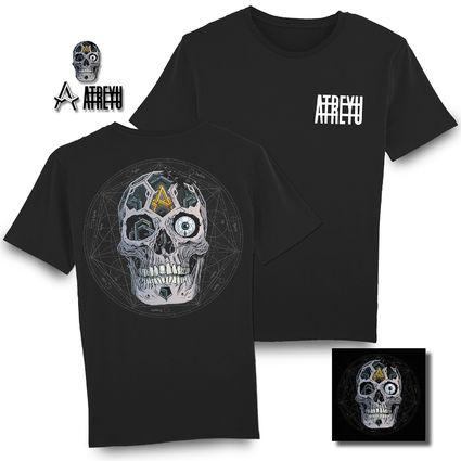Atreyu: In Our Wake Deluxe CD, T-Shirt & Badge Set Bundle