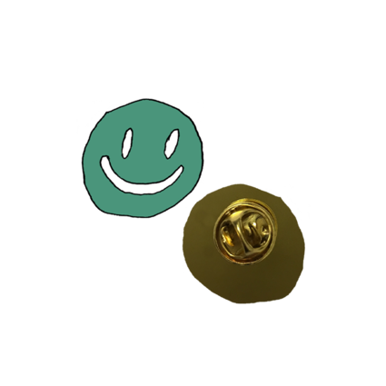 Mac DeMarco: Smiley Face Enamel Pin