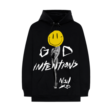 Nav: GOOD INTENTIONS LOVE HOODIE