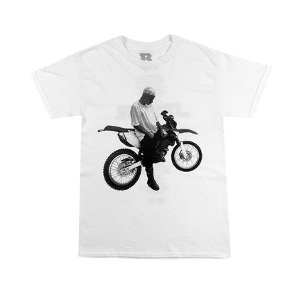 Justin Bieber: Dirt Bike White Tee
