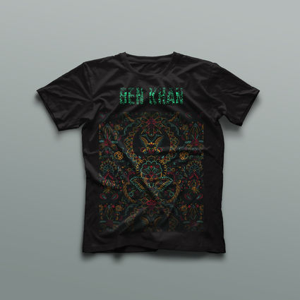 Ben Khan: Emerald Logo T-Shirt